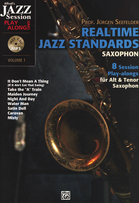 Alfred Music Publishing - Realtime Jazz Standards Sax