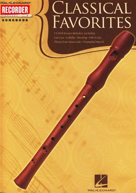 Hal Leonard - Classical Favorites Recorder