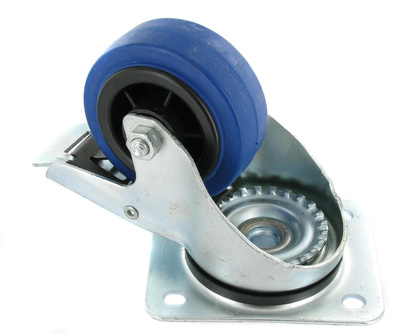 Millenium - Blue Wheel Braked 80mm