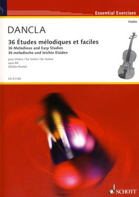 Schott - 36 Etudes Melodiques Violin