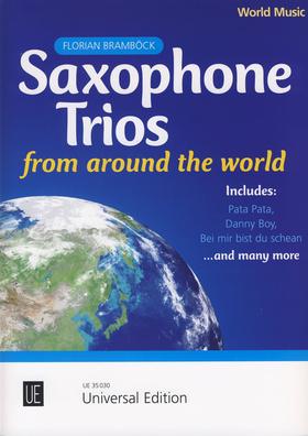 Universal Edition - Saxophone Trios f. Around the