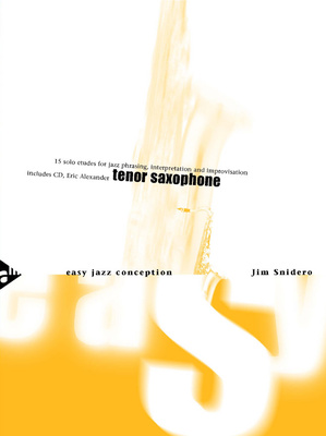 Advance Music - Easy Jazz Conception 1 T-Sax