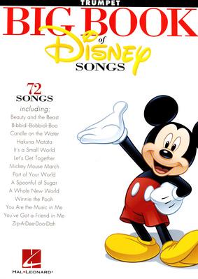 Hal Leonard - Big Book Of Disney Trumpet