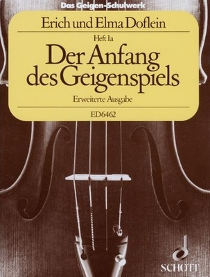 Schott - Der Anfang des Geigenspiels
