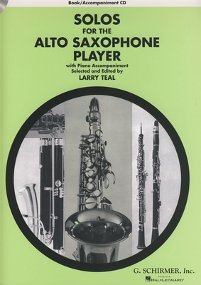 G. Schirmer - Solos For The A-Sax Player