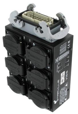 Stairville - V1616BE Power Distributor