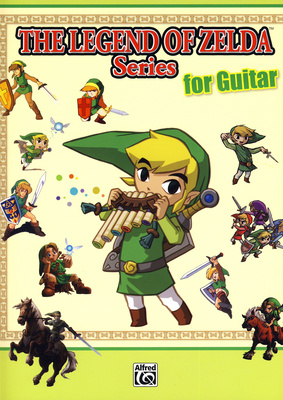 Alfred Music Publishing - Legend Of Zelda Guitar