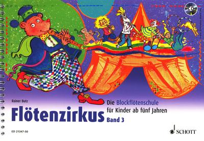 Schott - Flötenzirkus 3 + CD