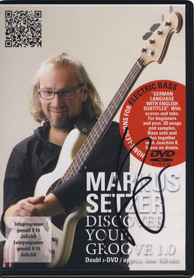 Markus Setzer - Discover Your Groove 1.0 DVD
