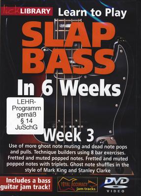 Roadrock International - Slap Bass In 6 Weeks - Week 3