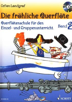 Schott - Fröhliche Querflöte 2 + CD