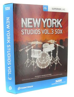 Toontrack - SDX New York Studios Vol. 3