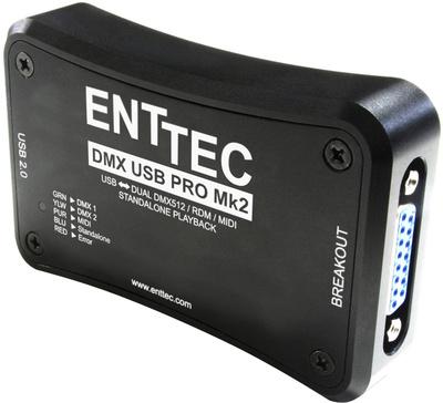 Enttec - DMX USB Pro MK2 Interface