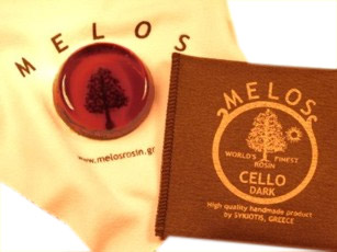 Melos - Cello Rosin Dark Mini