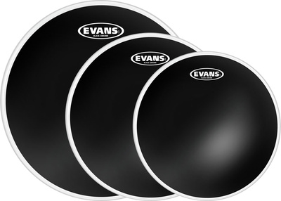 Evans - Black Chrome Set Studio