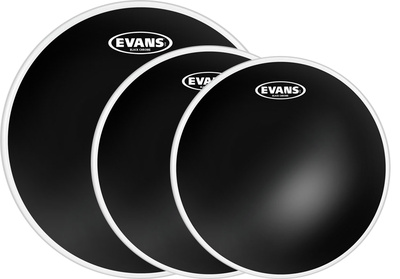 Evans - Black Chrome Set Standard