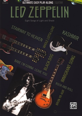 Alfred Music Publishing - Guitar Play-Along Led Zeppelin