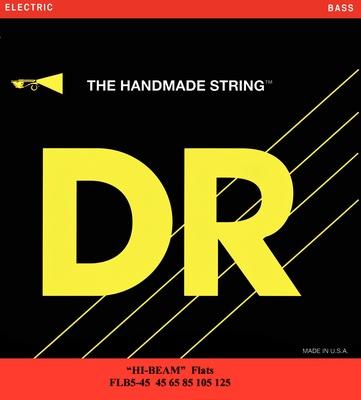 DR Strings - DR B HIFL FLB5-45 Flatwound