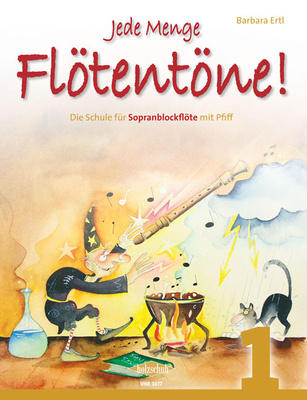 Holzschuh Verlag - Jede Menge Flötentöne 1