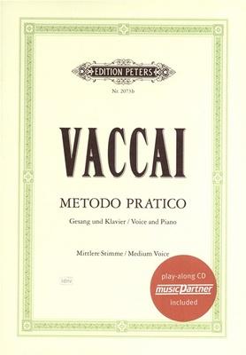 Edition Peters - Vaccai Metodo Canto Medium