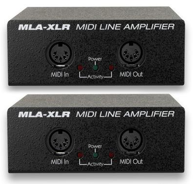 JL Cooper - MLA XLR Midi Line Amp Set