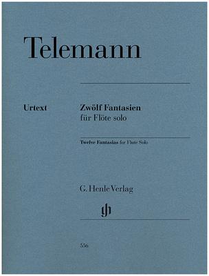Henle Verlag - Telemann Zwölf Fantasien Flöte
