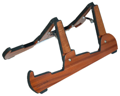 Cooperstand - Pro-Tandem Sapele Double Stand
