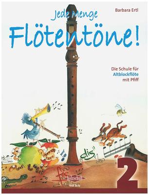 Holzschuh Verlag - Jede Menge Flötentöne 2 Alto