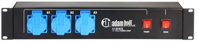 Adam Hall - 87472 Mains Power Strip 2U