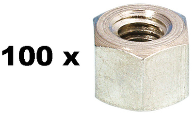 Adam Hall - 5666 Hex Nut M6 100pc