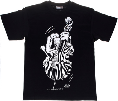 Rock You - T-Shirt Vulture Bass L