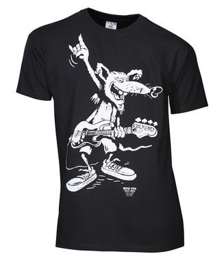 Rock You - T-Shirt Bass Rat M