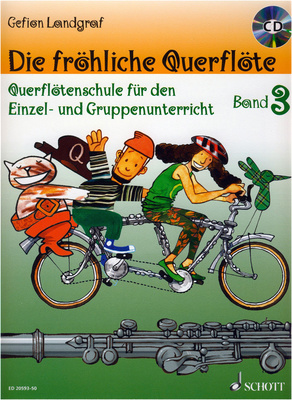 Schott - Die fröhliche Querflöte 3 + CD