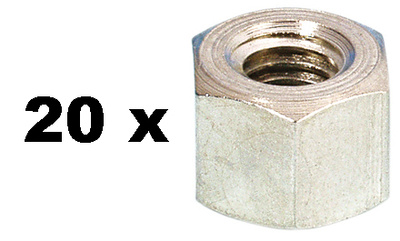 Adam Hall - 5666 Hex-Nut M6 Pack