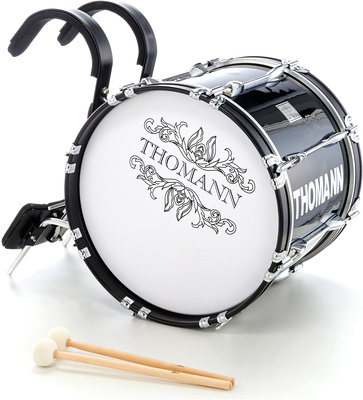 Thomann - BD1814BL Marching Bass Drum