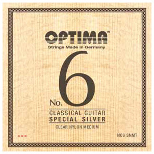 Optima - No.6 Silver Strings Nylon Med