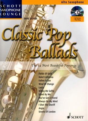Schott - Classic Pop Ballads A-Sax