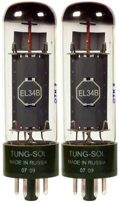 Tung-Sol - EL34B Matched Pair