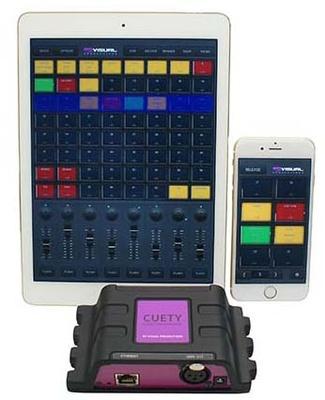 Visual productions - LPU-1 Cuety iPad Control
