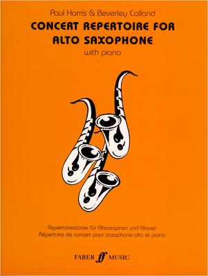 Faber Music - Concert Repertoire Alto Sax