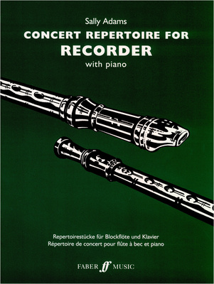 Faber Music - Concert Repertoire f. Recorder