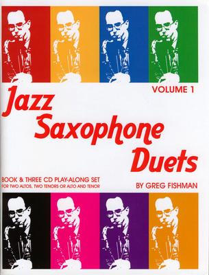 Greg Fishman Jazz Studios - Jazz Saxophone Duets 1