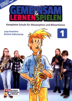Bläser-Schulen-Verlag - Gemeinsam Lernen 1 A-Sax