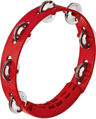 Nino - Kompakt ABS Tamburine Red