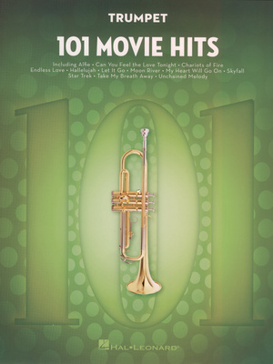 Hal Leonard - 101 Movie Hits for Trumpet