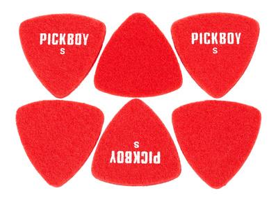 Pickboy - Felt Triangle Red Soft Pick S