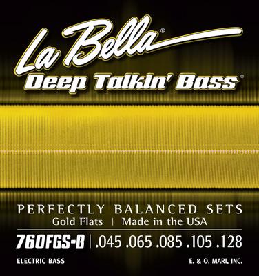 La Bella - 760FGS-B DT'Bass Gold Flats