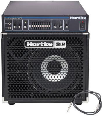 Hartke - HA 3500 Bass Top Bundle