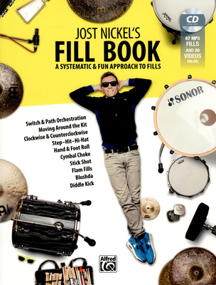 Alfred Music Publishing - Jost Nickel's Fill Book Engl.