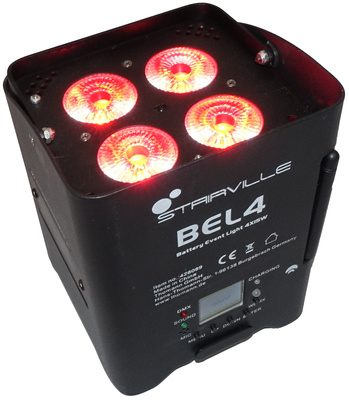 Stairville - BEL4 Battery Event Light 4x15W
